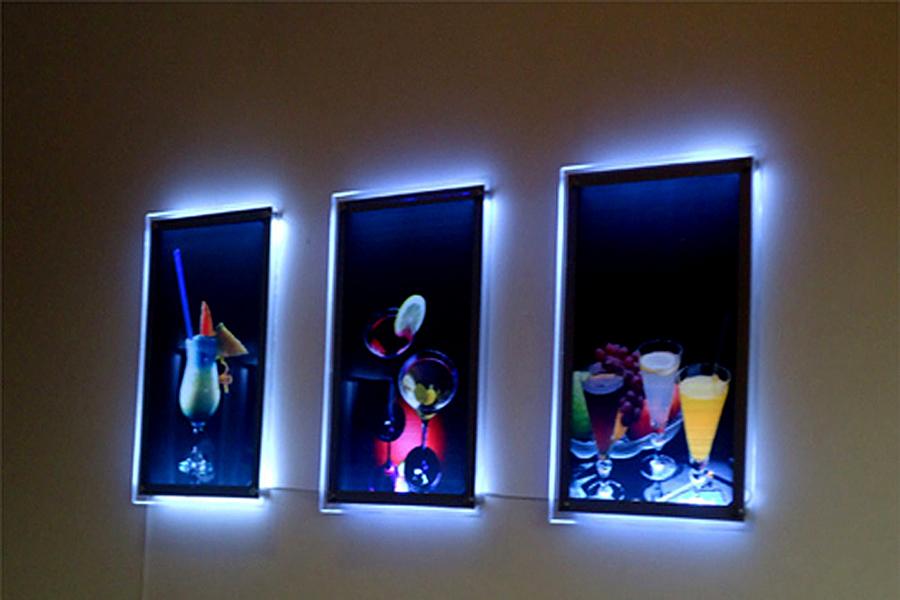 Tranh hộp đèn led quảng cáo led siêu mỏng