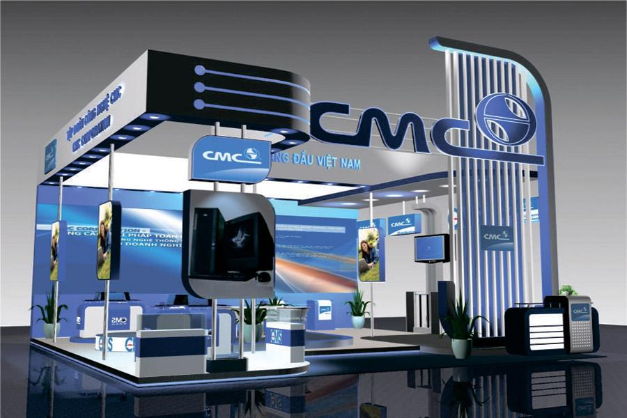 Thi công gian hàng hội chợ triển lãm chuyên nghiệp giá rẻ tại TPHCM
