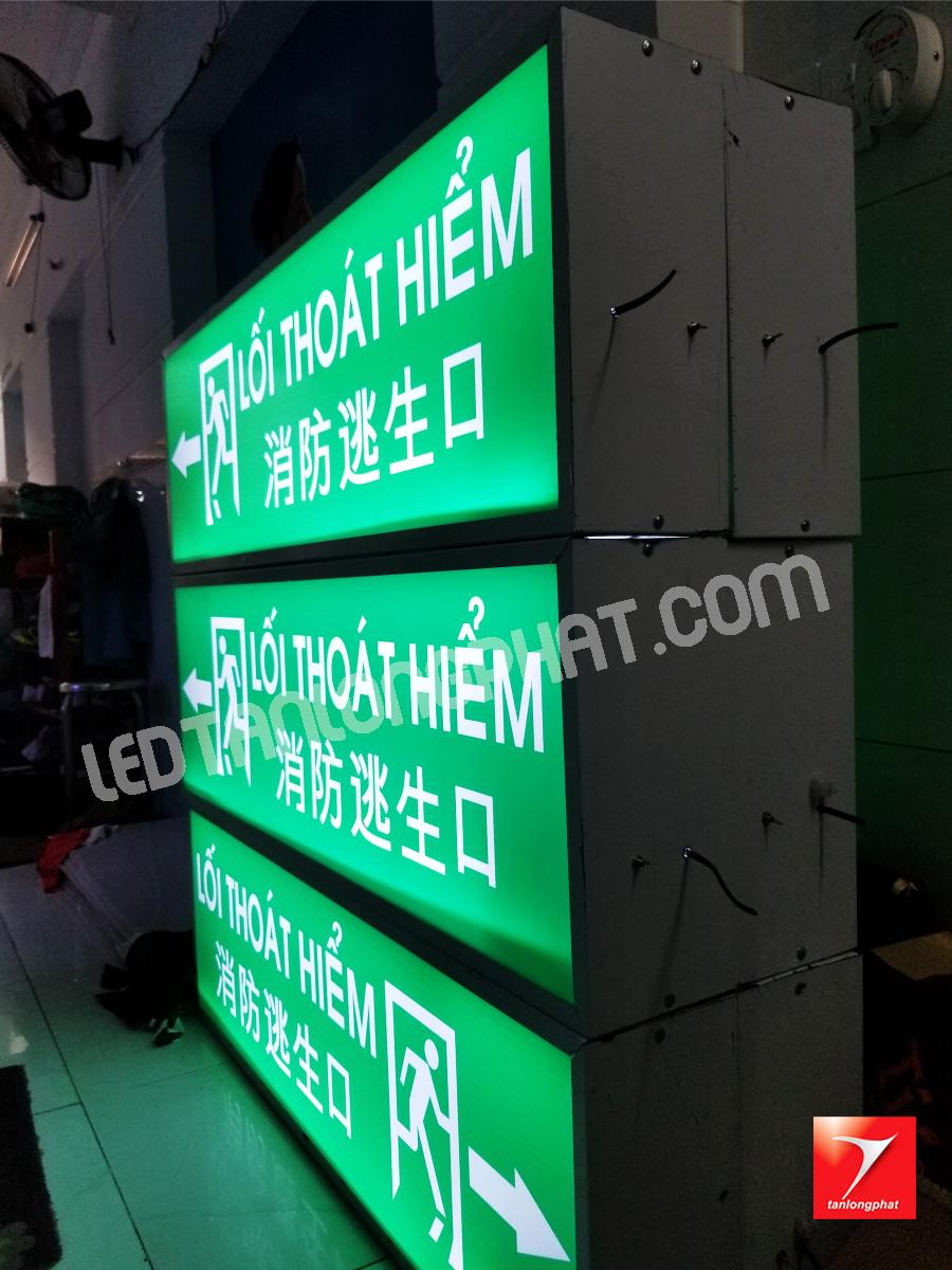 Bảng hiệu Led Ma trận được thi công tại xưởng Led Tân Long Phát