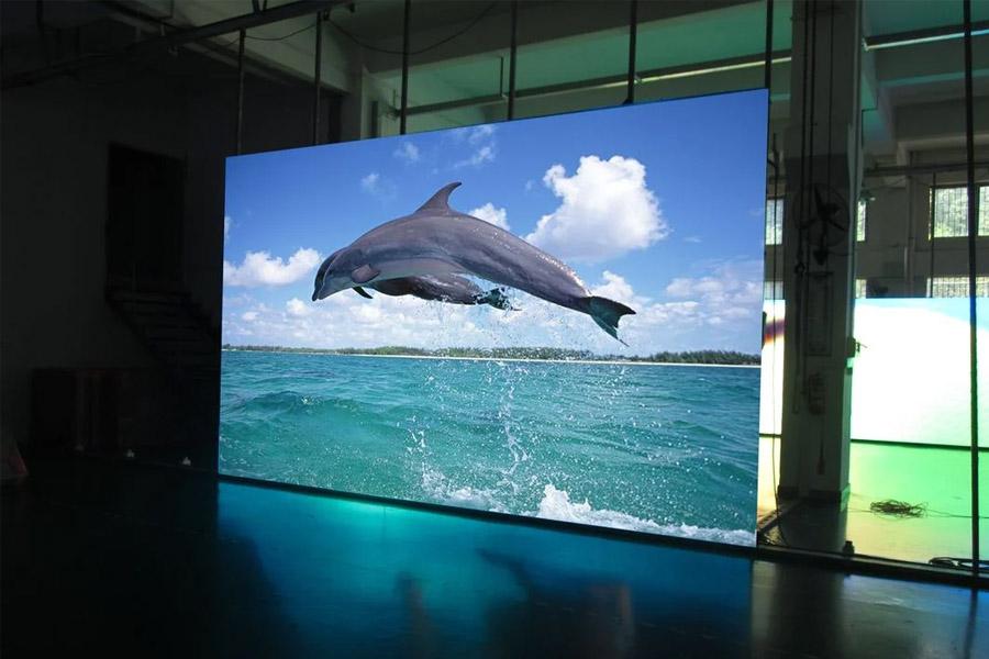 Thi công màn hình led trong nhà
