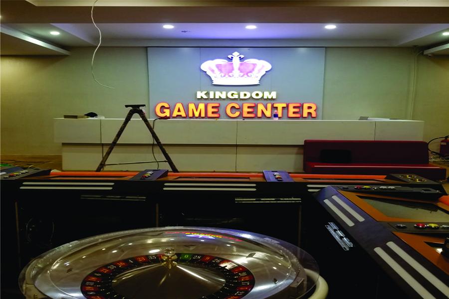 Thi công chữ nổi mica đèn led cho phòng game center tại Lý Thường Kiệt (TPHCM)